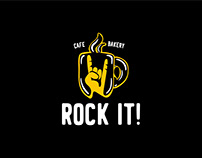 ROCK IT! Cafe&Bakery Branding