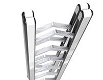 Completely Foldable Ladder