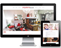 Poppy Salon – Website