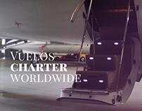 American Jet. Responsive Web & Photographic.