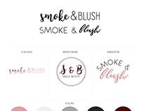 Branding Inspiration - Smoke & Blush