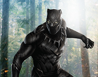 Black Panther Movie Poster Concept