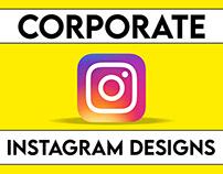 Corporate Instagram Post Designs