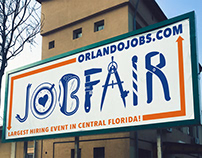 OrlandoJobs.com outdoor billboard