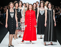 Balkans Fashion show MBFWRussia by Razu Mikhina SS2016