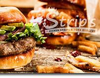 Branding - Strip's - Fast Food Restaurant