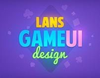 Lans Game UI Design