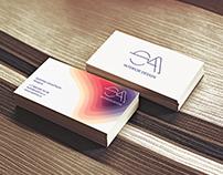 Визитки для дизайнера интерьера