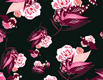repeat floral patterns