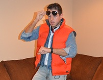 Back to the Future Halloween cosplay