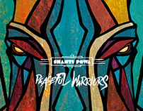 SHANTI POWA - PEACEFUL WARRIORS CD | CONCEPT & DESIGN