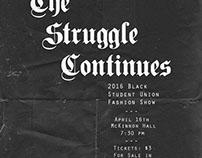 Promo: 2016 Black Student Union Fashion Show