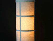 Felt table lamp