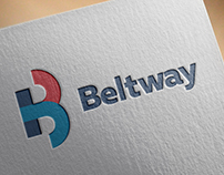 """Beltway"" Glazing Firm Logo and Corporate Design"