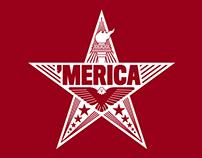 'Merica T-Shirt Illustration