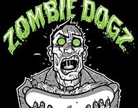 Zombie Dogz logo / T-shirt design