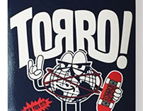 "Torro Skateboards ""Mr. Unisphere"" Deck and tee"