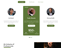 Lawyer Up, Web UI for the law community