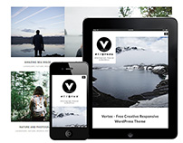 Vertex : Free creative Responsive WordPress Theme