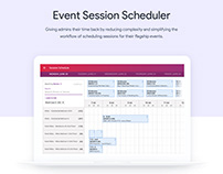 Event Session Scheduler