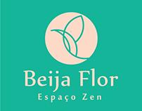 Logotipo - Beija flor Espaço Zen