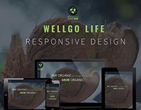 Wellgolife.com - Responsive design