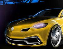 Vw Karmann Ghia Redesign Project