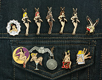 Lapel Pins Rnd 02 — Ladies