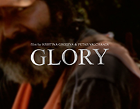 """Glory"" movie web design"