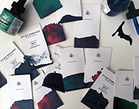 Hand-dyed Business Cards