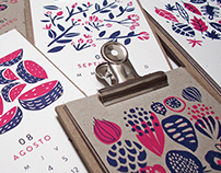 2016 Silkscreen Calendar