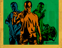 Grand theft Auto 5 Retro Art