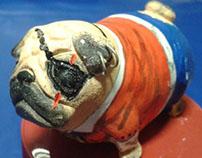 Pug Toy Art