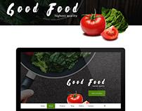 Good Food | Webdesign