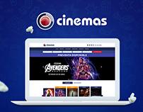Rediseño sitio web - Cinemas