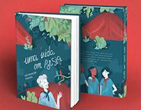 book cover: uma vida em poesia