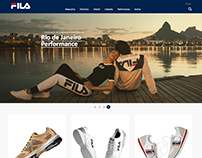 Fila - Redesign E-Commerce