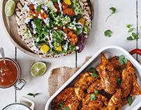 Tandoori Chicken Chapati