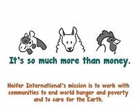 Heifer International Nonprofit Ads