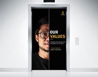 Vision, Mission and Values Campaign - Al Jazeera