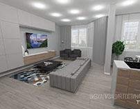Apartment. Tyoplyi Stan