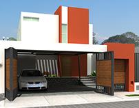 Proyecto Las Pergolas 3D. Colima, CL042006.