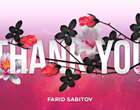 Thank you // My 1st Dribbble Shot