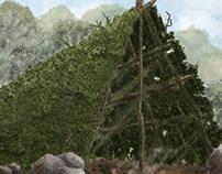Prehistoric Huts