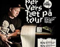 PRESSEFOTO: Per Vers tourplakat 2015