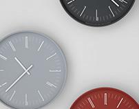 """""""Draw"""" wall clock"""