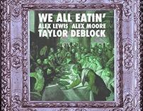 "Alex Lewis ""We All Eatin'"" Cover Art"