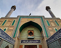 Shrine of Lal Shahbaz Qalandar r.a.