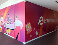 Entravision - Ilustraciones de oficinas