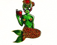 Poppy Mermaid